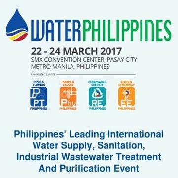 WATER PHILIPPINES 2017 CONFERENCE & EXPOSITION