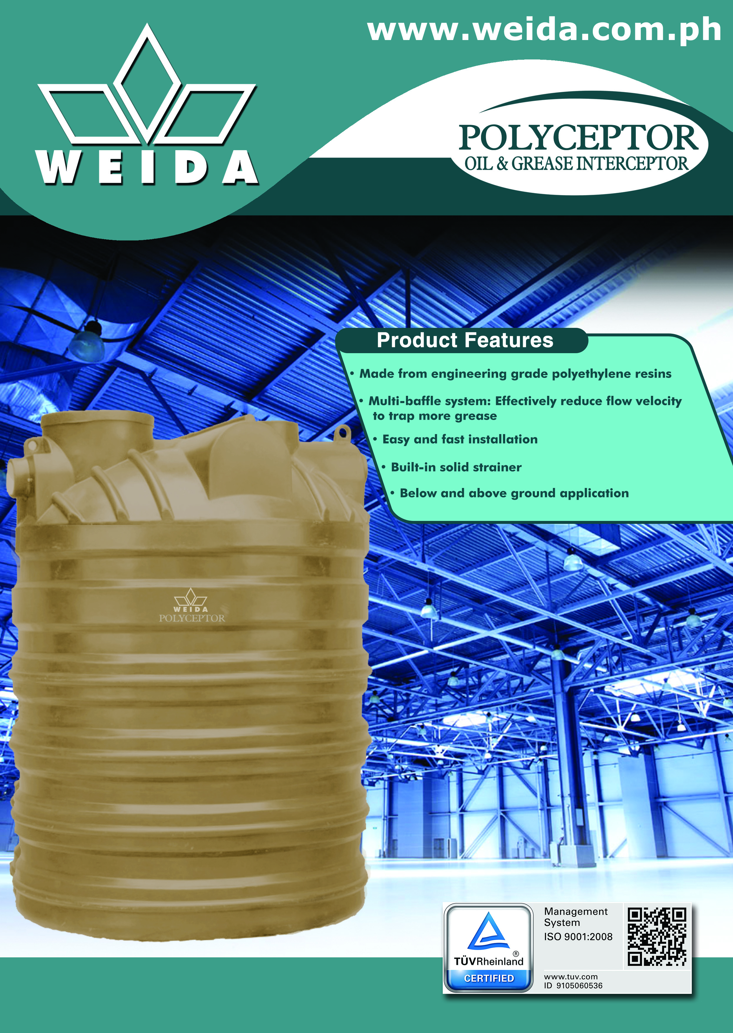 Wastewater Products Weida Philippines Inc